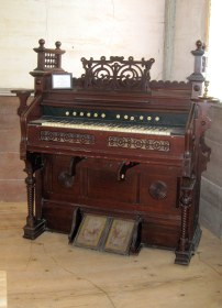 Estey Pump Organ donated by Bethel United MethodistChurch, Elkhorn, Wisconsin