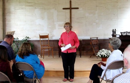 Georgia Kestol-Bauer Addresses the Group