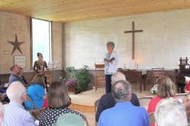 "Reverend Kimberly Brumm Conducts the ""Bless the Church"" Service"