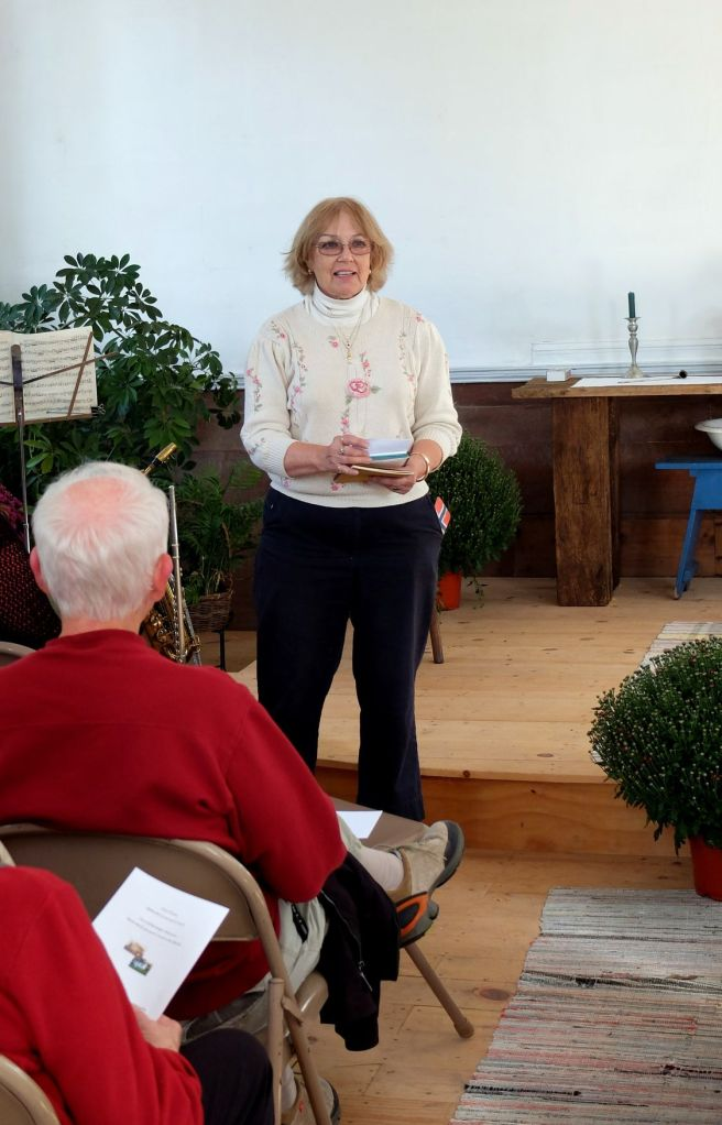 Georgia Kestol Bauer Addresses the Group